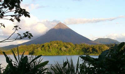 Arenal Volcano and Lake Costa Rica Rainforest Paradise